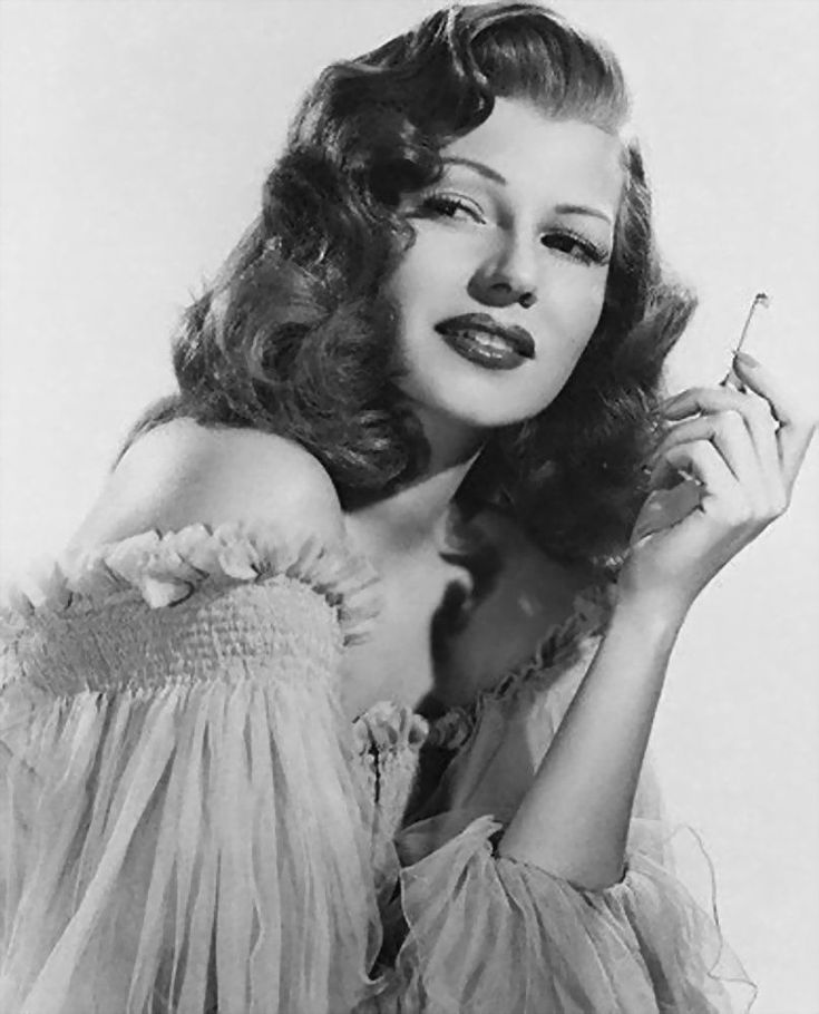 Rita Hayworth | Film Noir Photos: Tracking with Closeups: Rita Hayworth