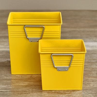 latitude run metal storage bin - Metal Storage Bins