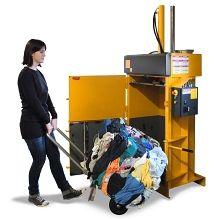 Bramidan B3 Textile Baler #textilebaler #recycling #baler #reducereuserecycle #secondhand
