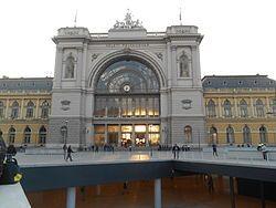 Keleti pályaudvar – Wikipédia