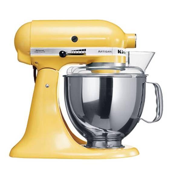 KitchenAid Artisan Küchenmaschine pastellgelb 5KSM150PS pastellgelb