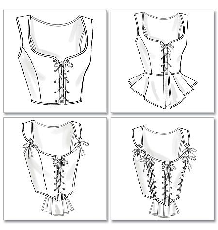 B4669  Misses' Corset  Retail Price: $15.95  Our Price: $9.57  $1.44 Sale