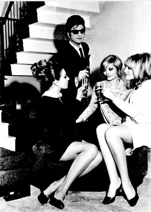 Zeki Müren, Semiramis Pekkan ve Ajda Pekkan (1967) #birzamanlar #istanlook #nostalji