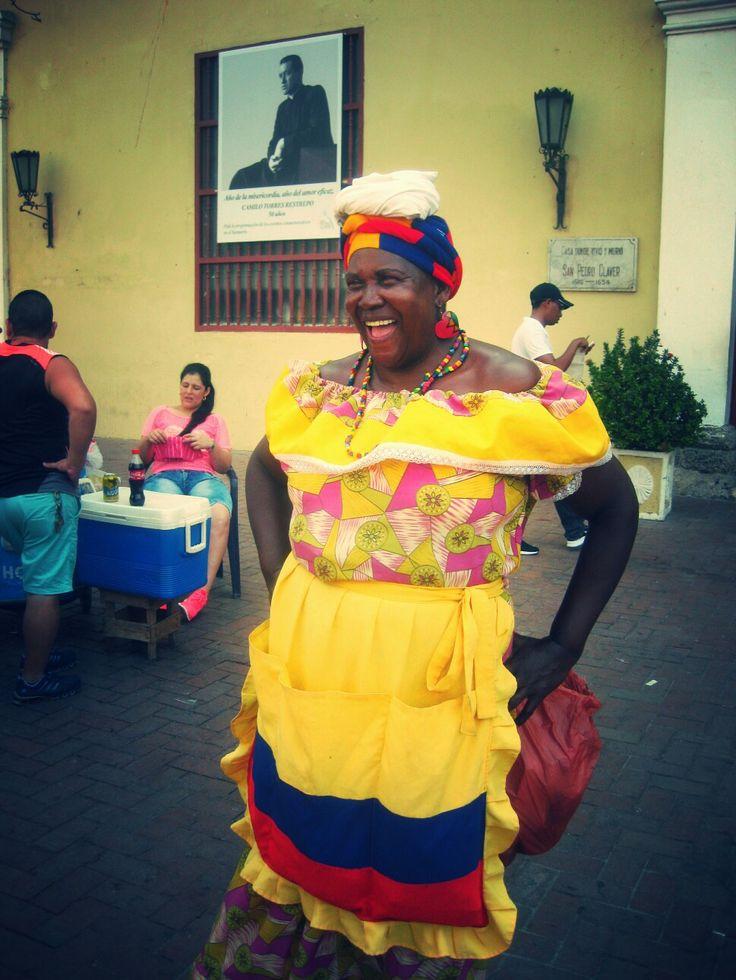 #Menschen #Cartagena #Kolumbien
