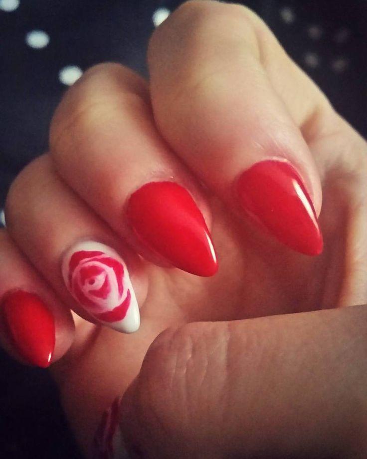 #paznokcie, #nails, #sharmeffect,  #rednails, #Gnails, #gnails,