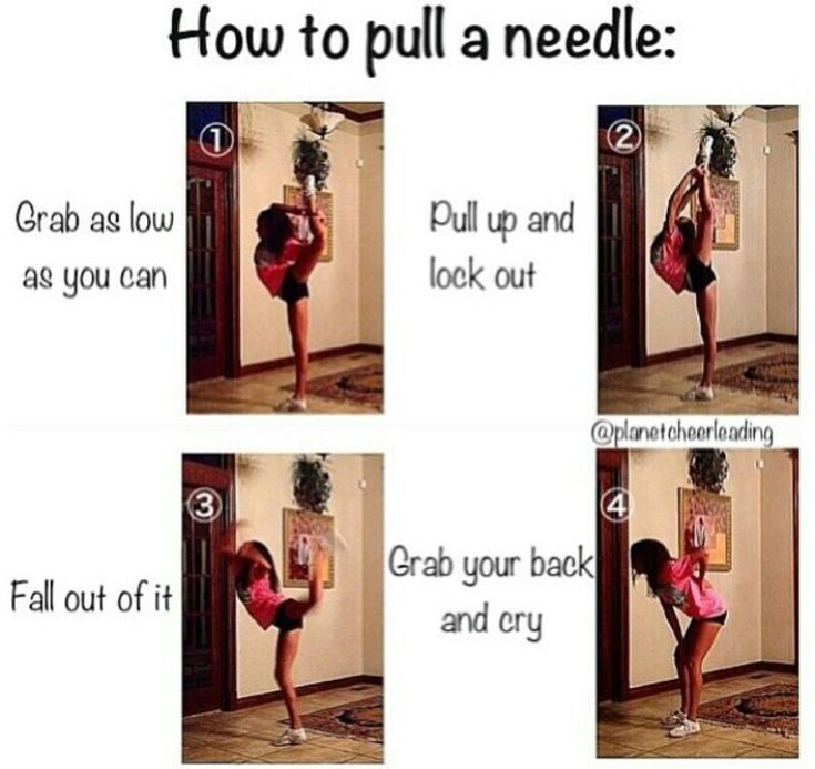 How to pull a needle