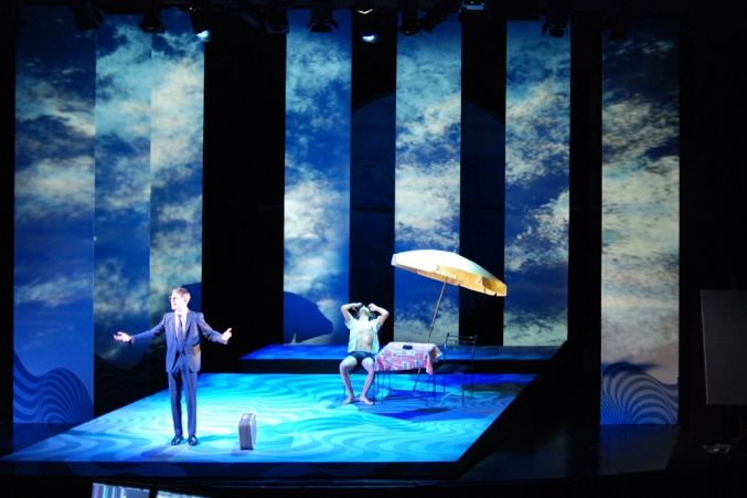 The Talented Mr Ripley, directed by Bob Carlton for Queen's Theatre, Hornchurch, 2010, set by Claire Lyth - Theatre