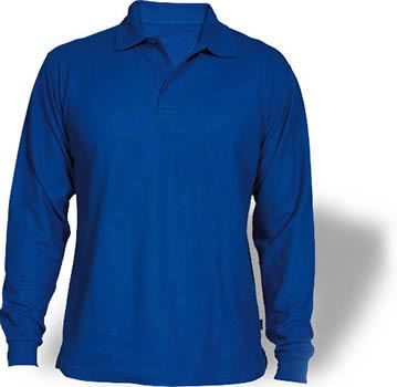 camisa tipo polo manga larga