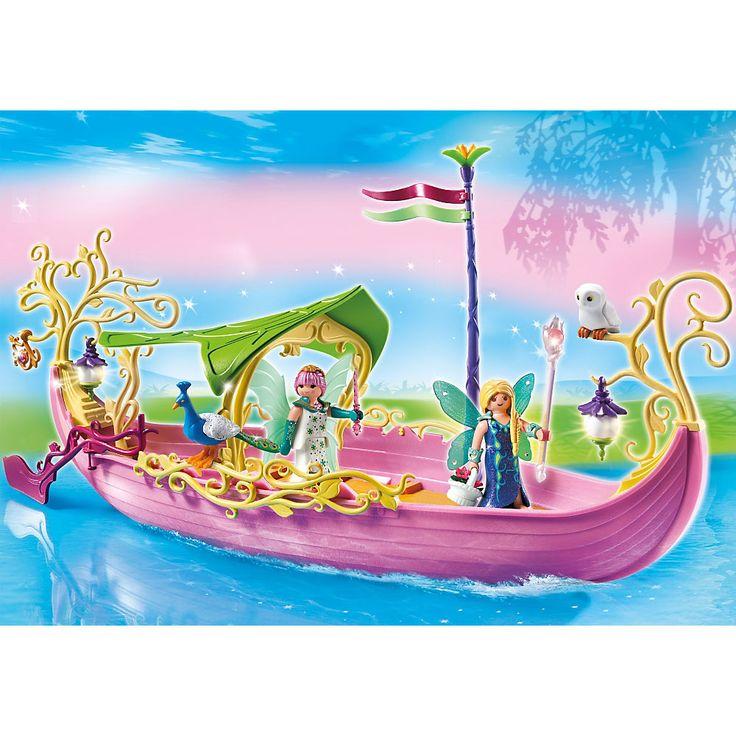 Playmobil Wróżki Okazały statek królowej wróżek, 5445, klocki