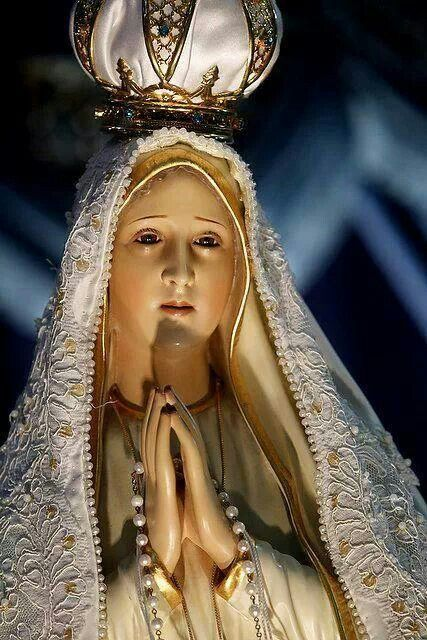 Our Lady of Fatima, pray for us...