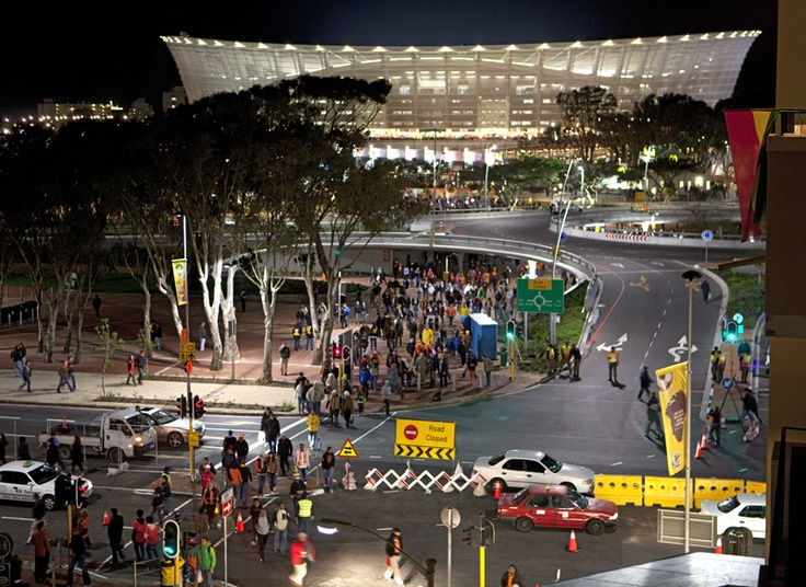 Green Point Stadium, Cape Town, Fifa World Cup 2010 by Obie Oberholzer  (obieoberholzer.net)