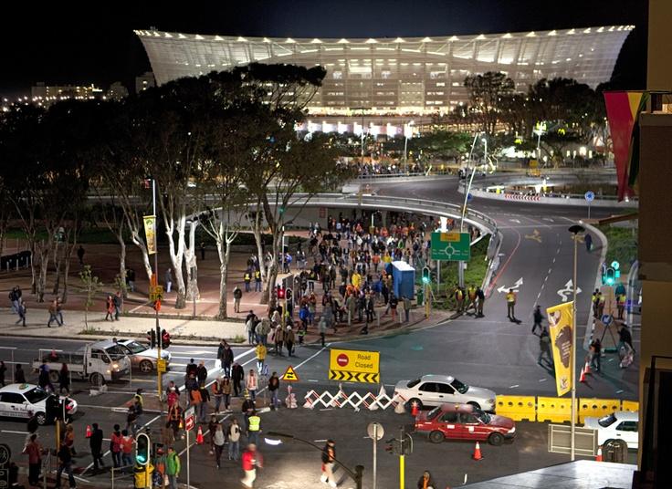 Green Point Stadium, Cape Town, Fifa World Cup 2010 by Obie Oberholzer  (obieoberholzer.net)