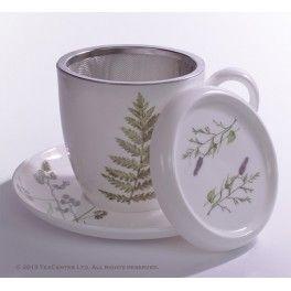 """ Meadow"" Herb tea cup"