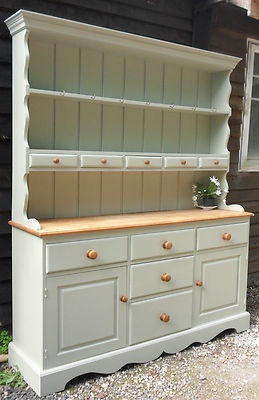 The perfect mix.....plenty of practical storage and lots of space to display your fabulous vintage crockery!
