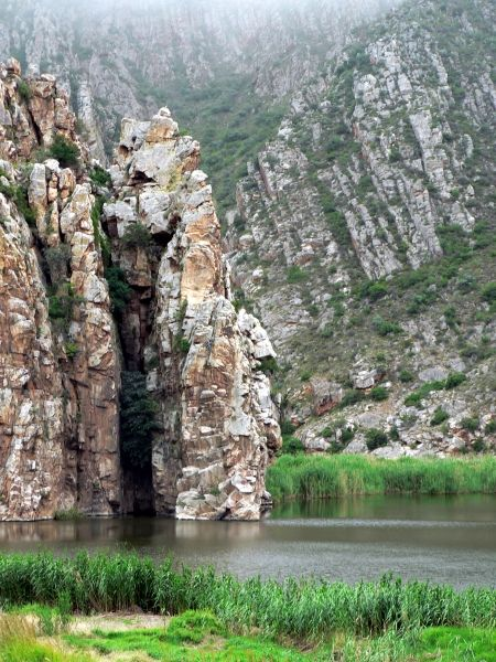 Baviaanskloof mountains water catchment area for port elizabeth