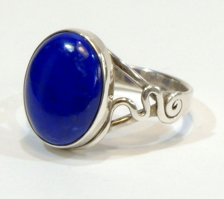 Lapis lazuli silver ring ,jewelry,Lapis Ring, Sterling Silver, Boho Ring, Blue Lapis Ring, Lapis Lazuli Ring,special gift,unique jewels by Majlagalery on Etsy