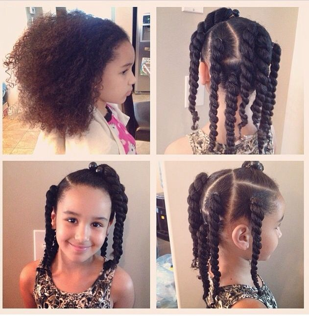 Natural Hairstyle For Lil Cupcakes