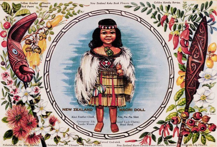 Maori postcards early 20th Century