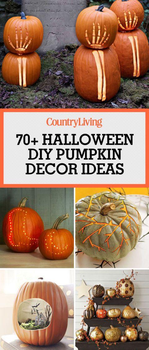 17 Best Ideas About Halloween Pumpkins On Pinterest
