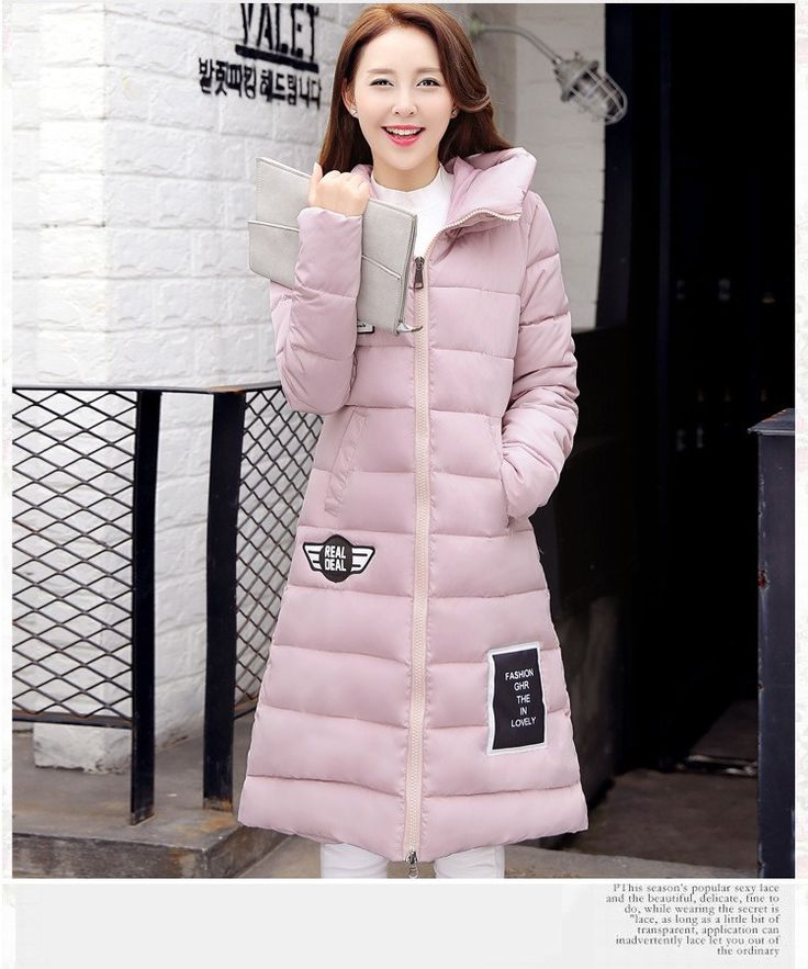 2017 New Women cotton Jacket  Winter warm coat Thick Hooded Long section  Plus Size Down Cotton-padded Jacket Parka Slim Coat