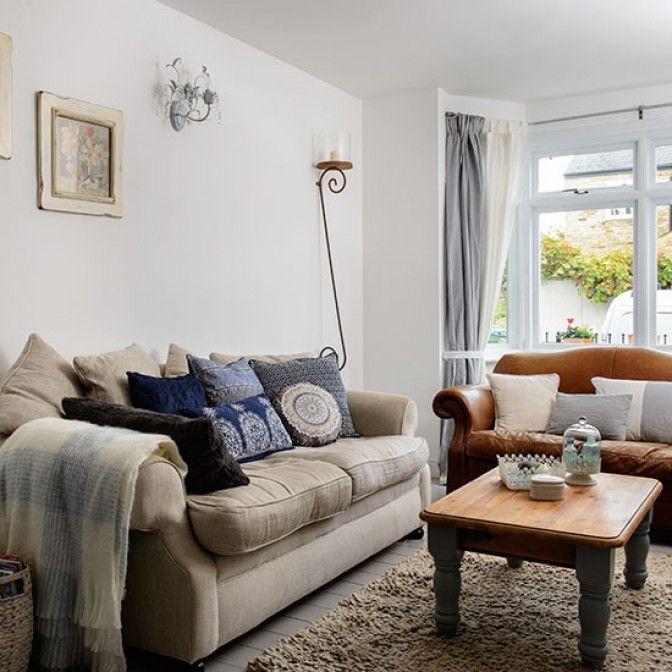 Alwinton Corner Sofa Handmade Fabric. Cosy Living RoomsComfortable Living  RoomsLiving Room IdeasLiving ...