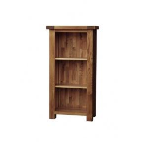 Rustic Solid Oak SRDK15 3FT Narrow Bookcase  www.easyfurn.co.uk