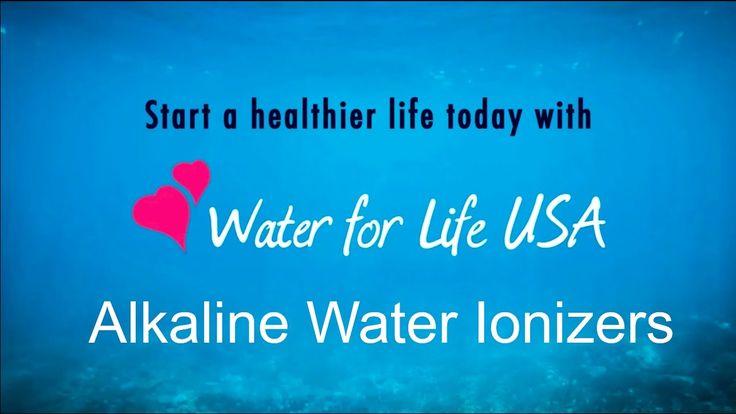 Alkaline Water Ionizer - Water For Life Alkaline Water Ionizer