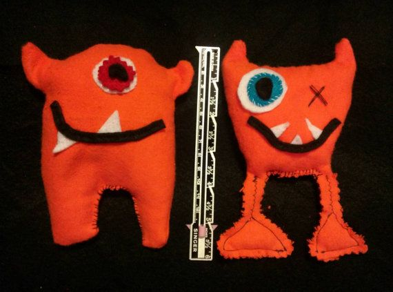 Kids' monster rice packs to use as ice packs for boo boos