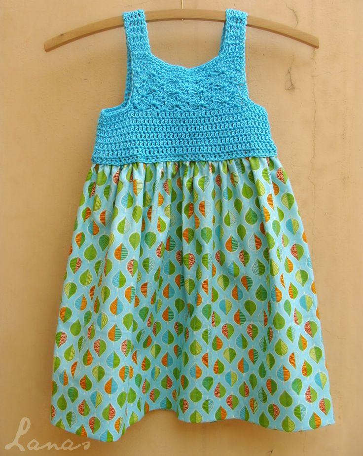 Lanas de Ana: Aqua Summer Dress