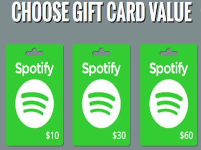 Get Free $60 spotify gift voucher redeem code! spotify ...