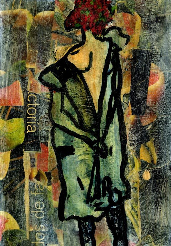 8-KARMA de ARTE. Egon IV.   Pintura mixta .  www.crisacqua.com