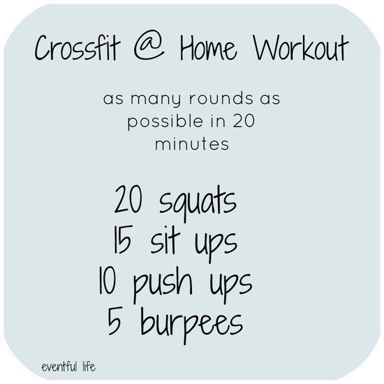 Beginner Home CrossFit Workout - Get In The Best Shape Of Your Life WebMuscleFitness.com