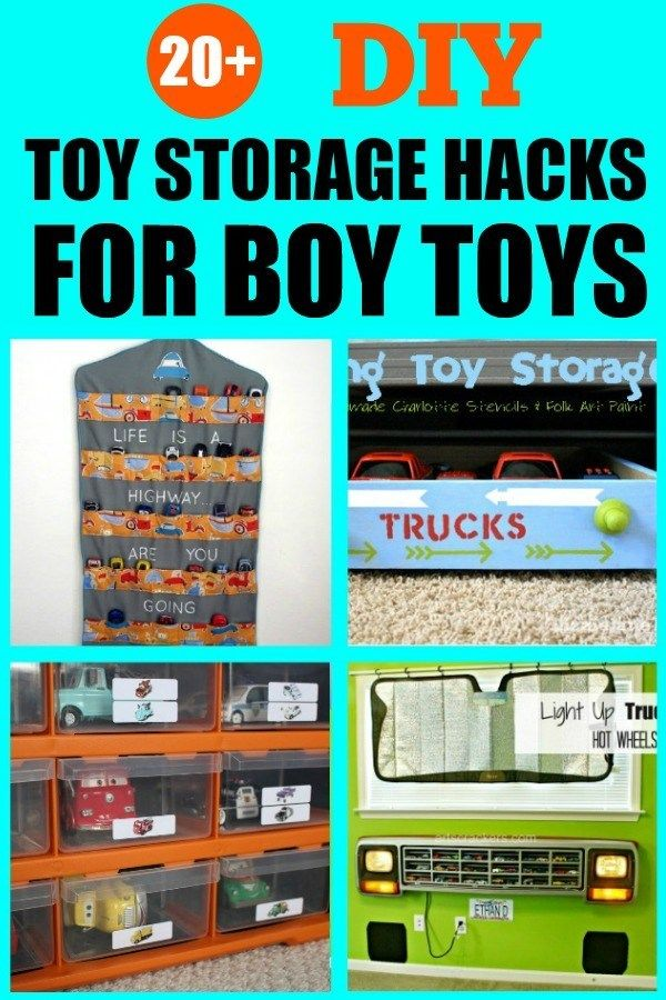 How To Organize Boy Toys I Love All These Ideas For Diy Toy