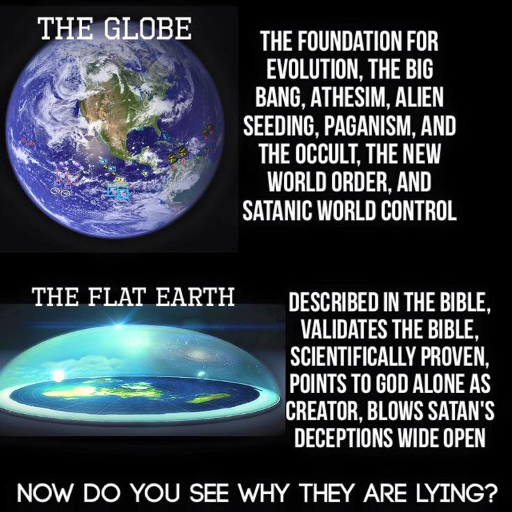 NO!!! Where does the Bible say that the earth is flat??
