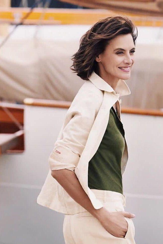 Ines De La Fressange 2019 : fressange, FRESSANGE, Spring/Summer, Collection, UNIQLO, Follow, Board, Parisienne, La…, Fashion, Women,, Women
