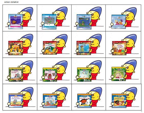 Planbordkaarten van Pompom   Methode SCHATKIST