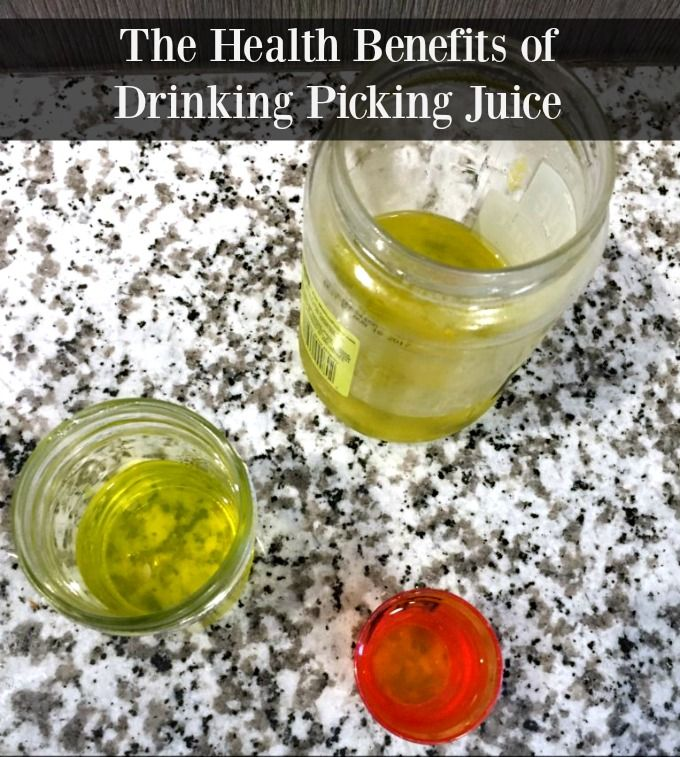 health benefits of drinking pickle juice
