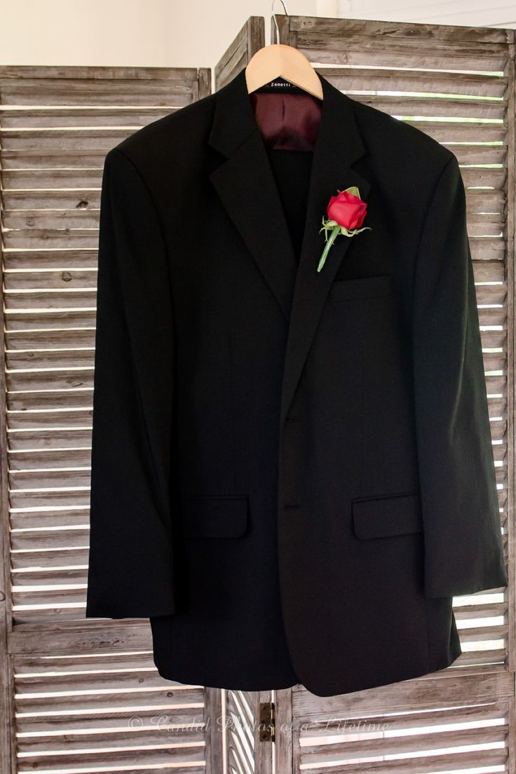 Wedding photographer, Candid Photos of a Lifetime  The Groom's suit