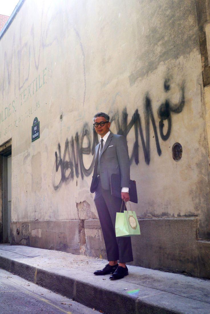 Takahiro Kinoshita style, Paris! Icon of Ivy style, Preppy!