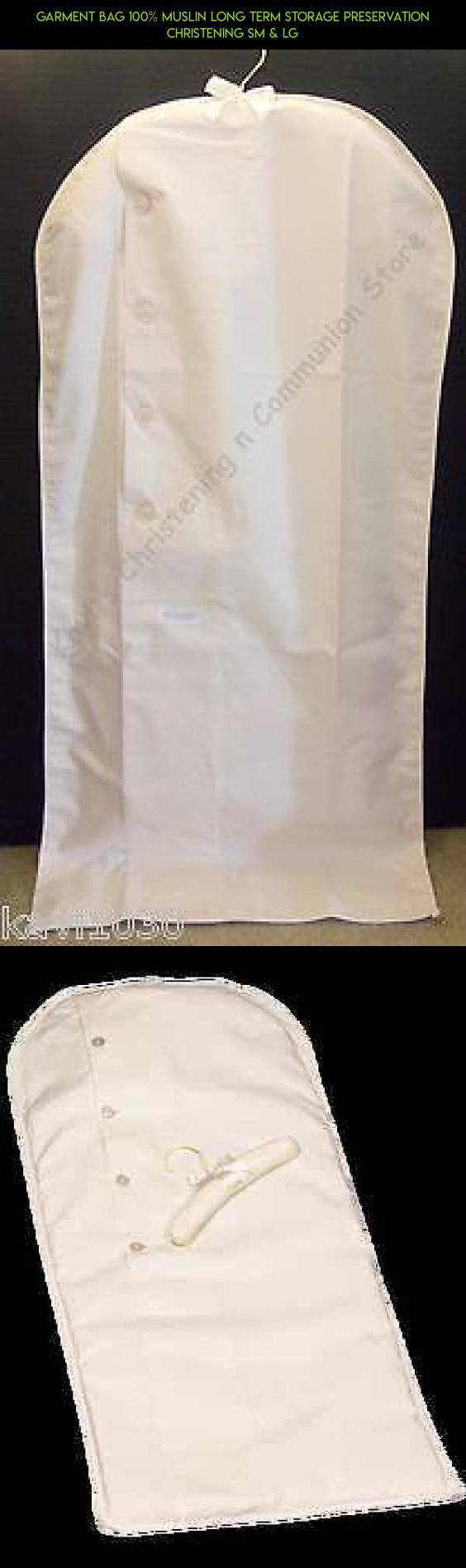 Garment Bag 100% MUSLIN Long Term Storage Preservation Christening Sm & Lg #parts #storage #camera #fpv #drone #technology #garment #gadgets #kit #tech #products #shopping #bag #plans #racing