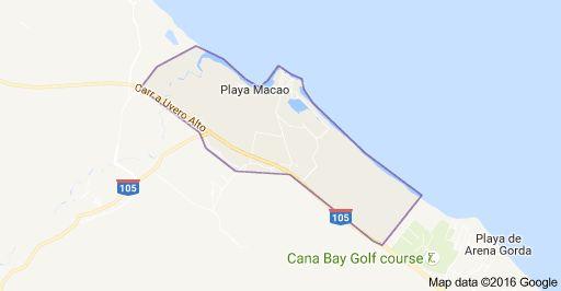 Mapa de Macao, Punta Cana 23000