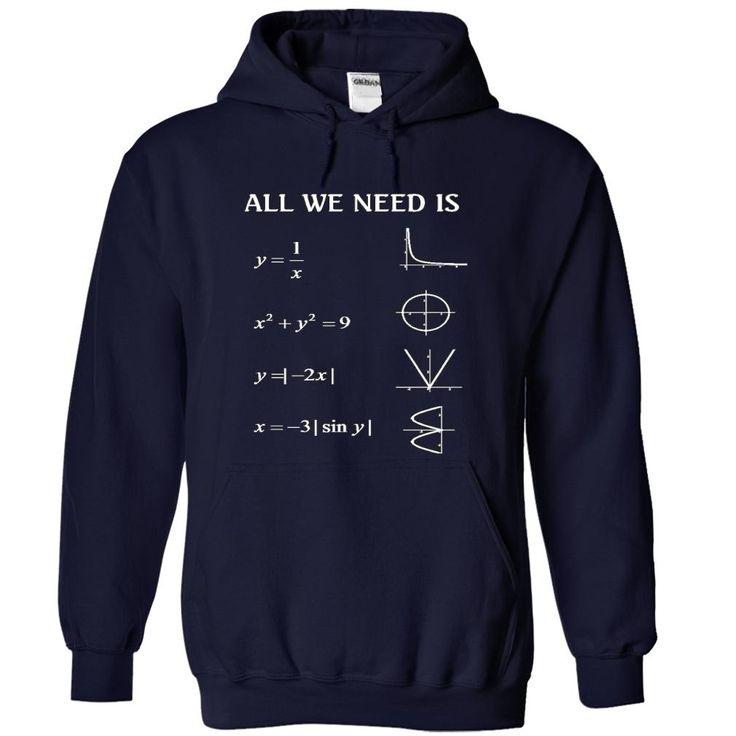 (New Tshirt Great) math love [TShirt 2016] Hoodies, Tee Shirts