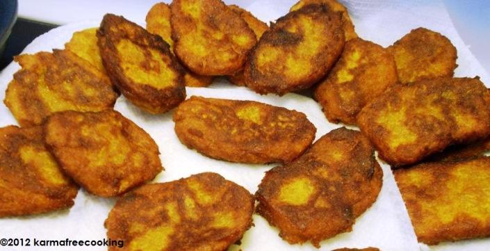 Frituras de Calabaza Puertorriqueñas | KarmaFree Cooking En Español