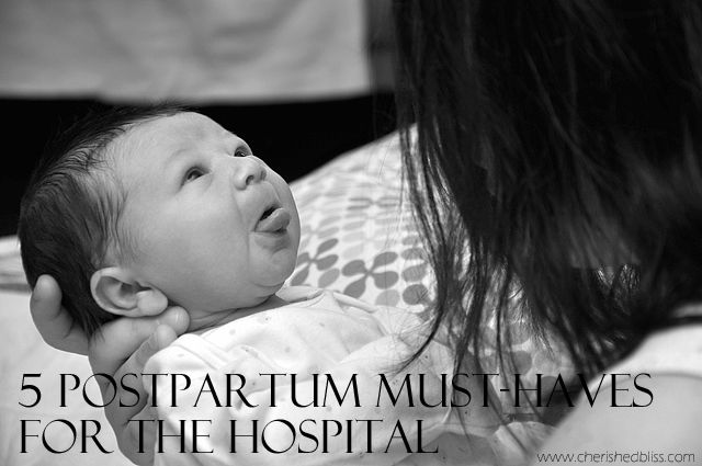 5 Postpartum Must-Haves for the Hospital #ad #DulcoEasePink