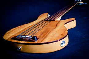 Rob Allen MB-2 Fretless Bass Guitar | by Ethan Prater