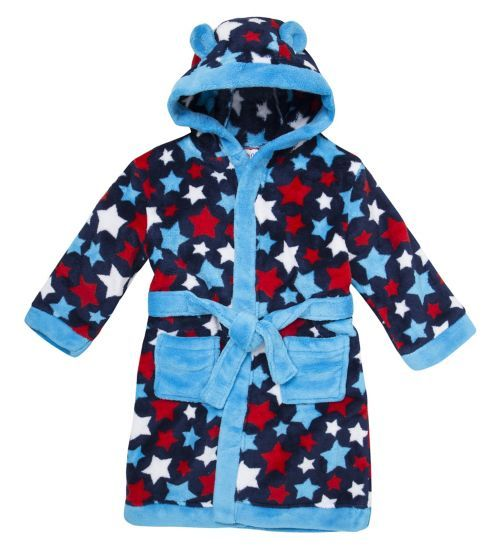 Boys Dressing Gown - Kids Clothing - Boots