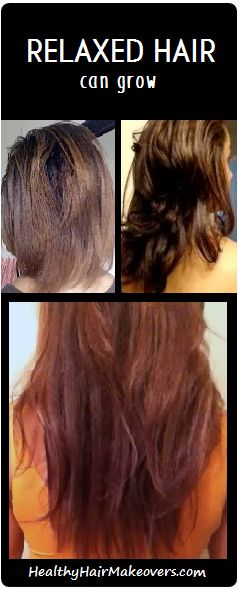 Relaxed Hair Growth is possible.  Check out http://www.healthyhairmakeovers.com/ for my regimen and great articles