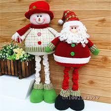 Resultado de imagen para muñecos country de navidad patas largas