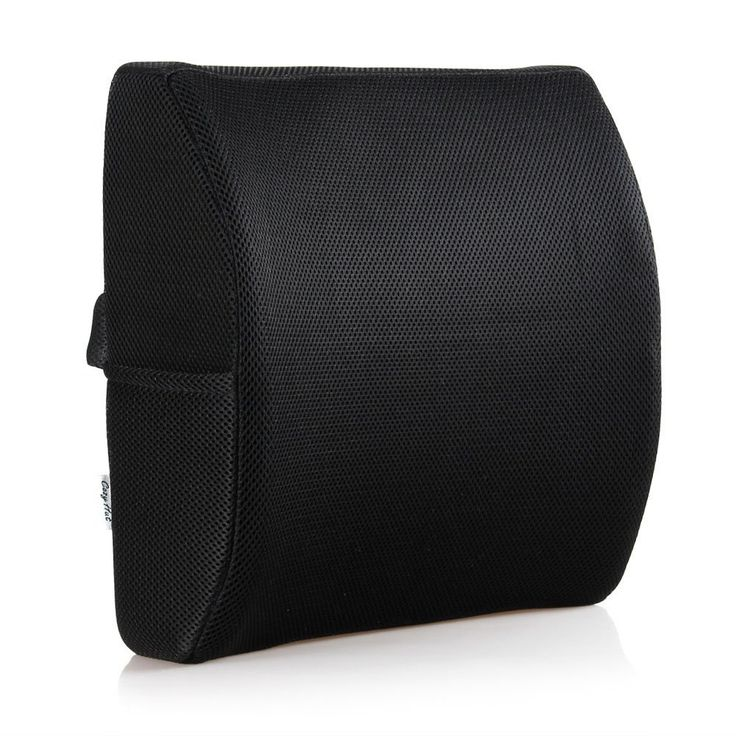 Cozy Hut Memory Foam Lumbar Support Back Pillow (Black) - Cozy Hut Memory Foam Lumbar Support is designed for both office chairs and car seats, this memory foam back pillow offers comfortable, firm support. The lumbar cushion is beneficial for pressure relief when sitting for extended periods of time, especially for individuals with back injuries or chronic back pain. This can help to alleviate or prevent lower back pain, discomfort and stiffness.