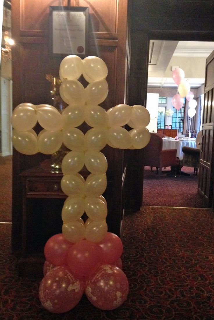 Local balloon decorating service available in the